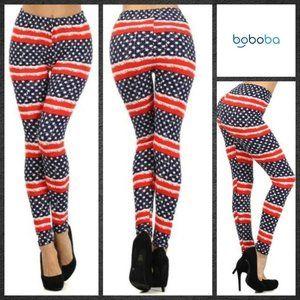 American Flag Leggings/Stretchy Pants